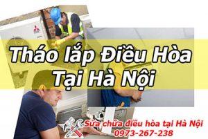 dịch vụ Tháo lắp điều hòa tại Hà Nội giá rẻ