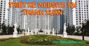 thiết kế web tại thanh xuân