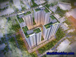 dự án chung cư bcons garden