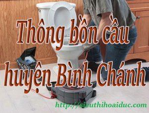 Thông bồn cầu huyện Bình Chánh chuyên nghiệp