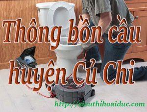 Thông bồn cầu huyện Củ Chi chuyên nghiệp